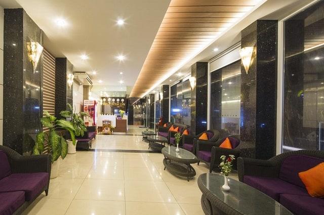 Khách sạn thiết kế nhỏ với nhiều phòng nhưng vẫn đảm bảo mang đến sự thoáng đãng