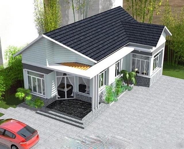 Nhà cấp 4 được xây dựng phần lớn ở vùng ngoại ô và nông thôn