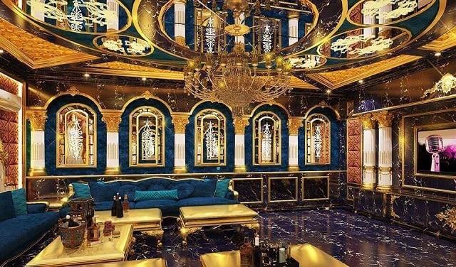 Phòng Karaoke thiết kế theo chủ đề nghệ thuật với những nét kiến trúc độc đáo