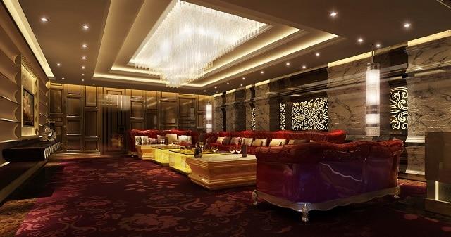 Phòng Karaoke được ưu tiên thiết kế theo phong cách đơn giản, màu sắc nhã nhặn