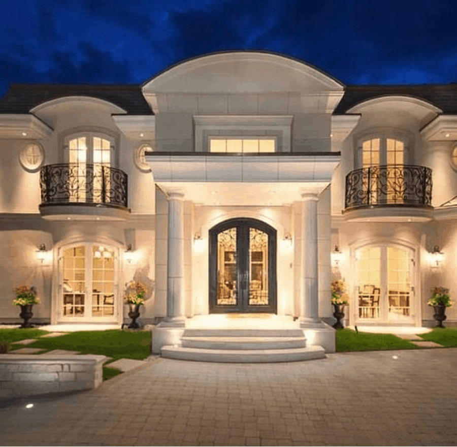 Mẫu thiết kế nhà cổ đẹp có màu sắc trang nhã và tinh tế