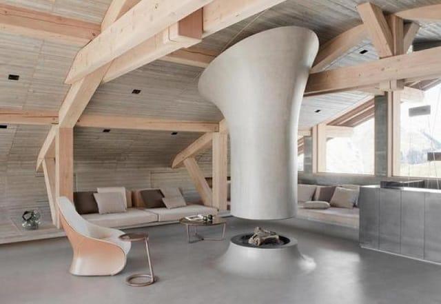 Phong cách thiết kế nhà hiện đại nhưng vẫn đủ để làm không gian trở nên ấn tượng, sang chảnh
