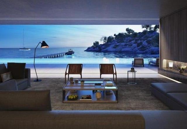 Căn nhà không mang phong cách thiết kế quá cầu kỳ nhưng vẫn đủ để phô diễn những gì sang chảnh nhất