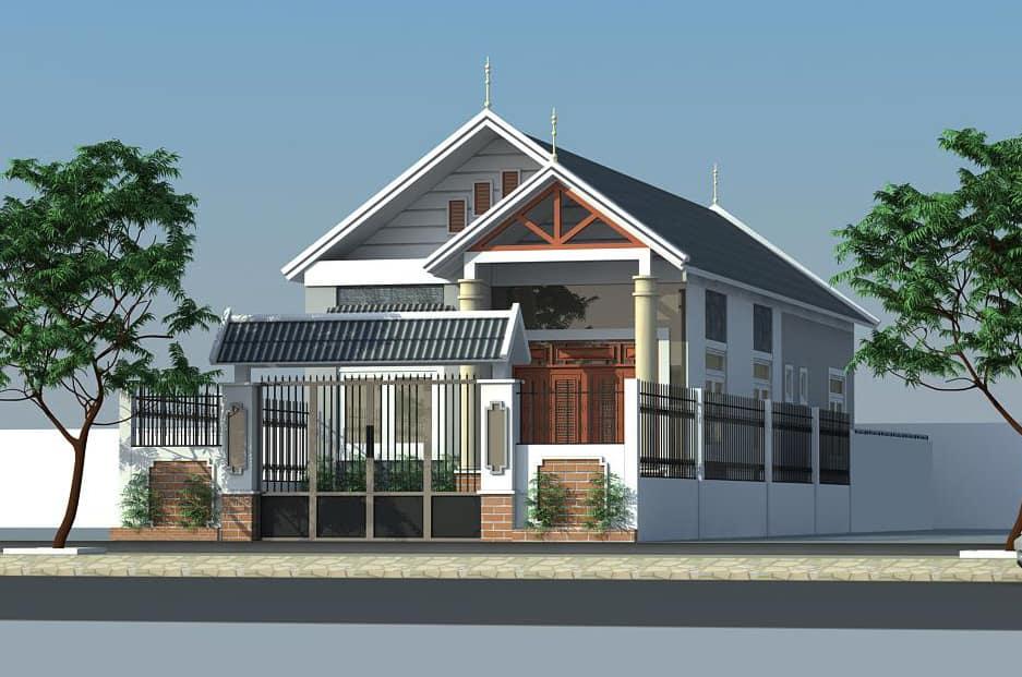 Ngôi nhà mang phong cách thiết kế với nhiều nét mới lạ, độc đáo