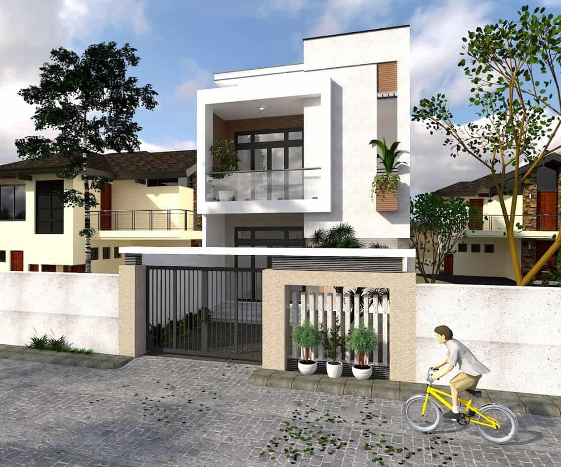 Thiết kế nhà là sự kết hợp hoàn hảo giữa những chi tiết ấn tượng tạo vẻ đẹp đẳng cấp