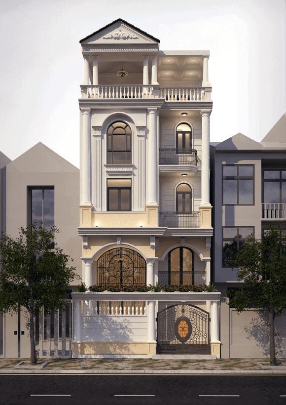Vẻ đẹp của ngôi nhà nằm ở những đường nét tinh tế, tỉ mỉ