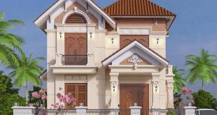33 Mẫu Thiết Kế Nhà Tân Cổ Điển Đẹp Ấn Tượng Nhất 1