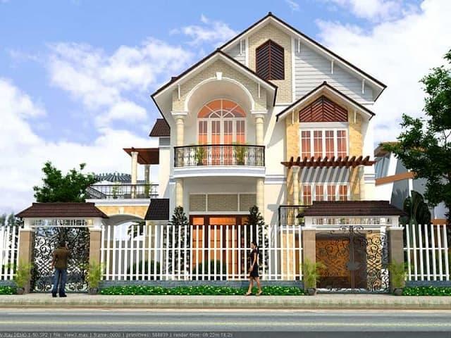 Nhà ở được thiết kế với nhiều chi tiết mởi mẻ, ấn tượng