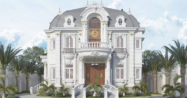 Ngôi nhà là sự biến tấu hoàn hảo giữa những chi tiết hiện đại và đường nét cổ điển cuốn hút