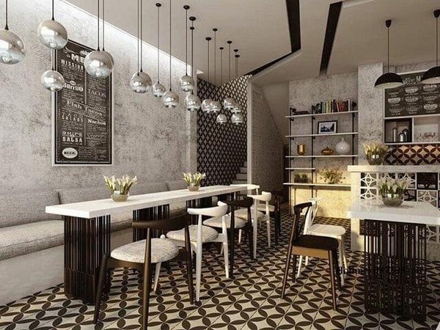 Phong cách thiết kế của quán café mang lại một cảm nhận rất mới, độc đáo cho thực khách ghé đến
