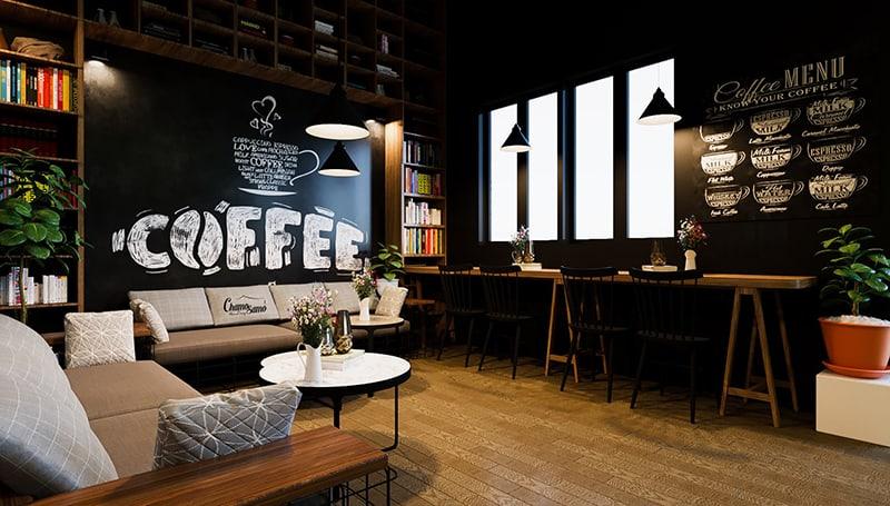 Quán café mang phong cách thiết kế Vintage nhẹ nhàng, ấn tượng nhưng rất có sức hút