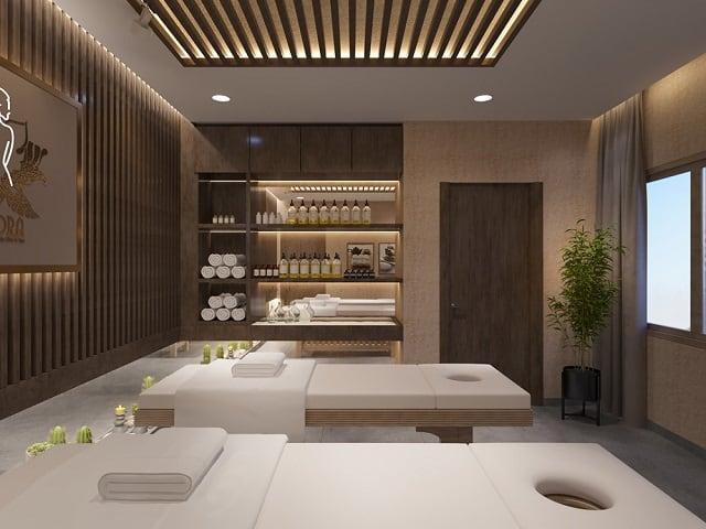 Để thuận tiện nhất khi cung cấp dịch vụ cho khách hàng, mỗi phòng Spa được thiết kế đầy đủ chức năng