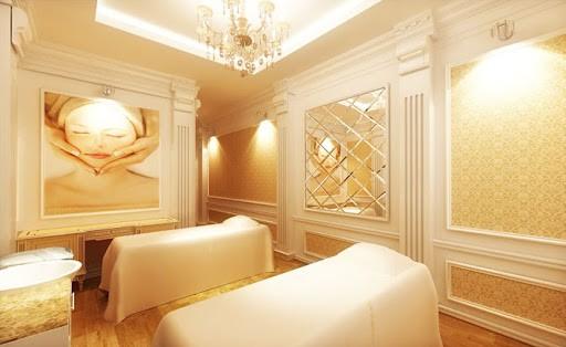 Không gian của Spa sở hữu vẻ đẹp hiện đại, sang trọng và có sức hút riêng