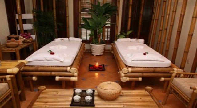 Tất cả món nội thất, vật dụng trong Spa đều mang hơi hướng tự nhiên để tạo cảm giác thư thái, thoải mái