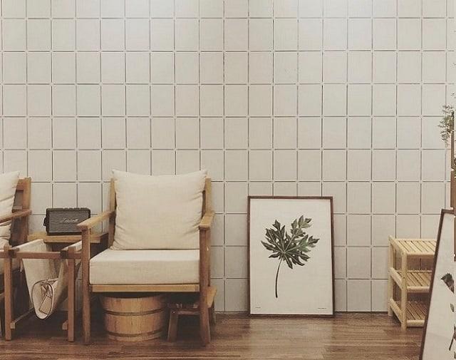 Tiệm Nail thiết kế không quá cầu kỳ nhưng lại tạo được nhiều điểm nhấn ấn tượng