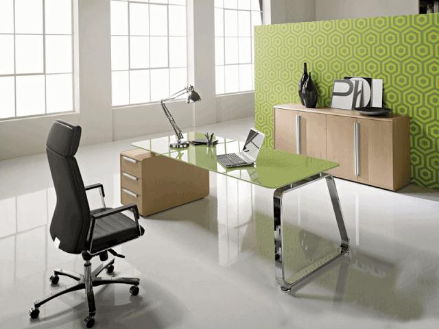 Văn phòng làm việc nhỏ được thiết kế với những chi tiết tiện nghi, loại bỏ các món nội thất không cần thiết