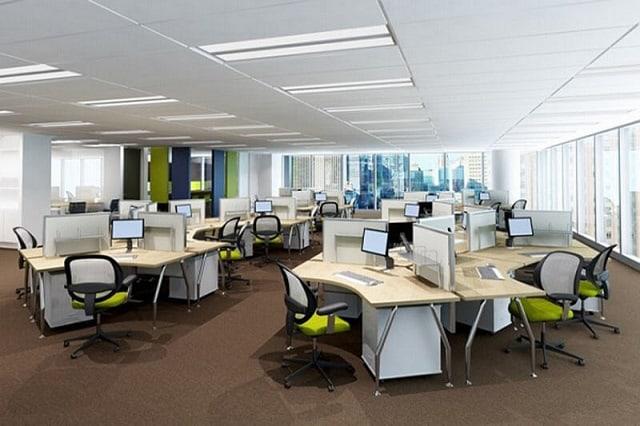 Thiết kế văn phòng làm việc mang đến vẻ đẹp sang trọng, đẳng cấp