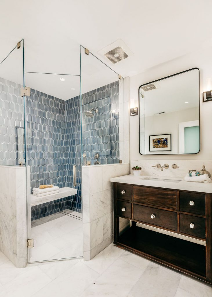 Thiết kế, bố trí phòng tắm theo nguyên tắc thứ tự ướt