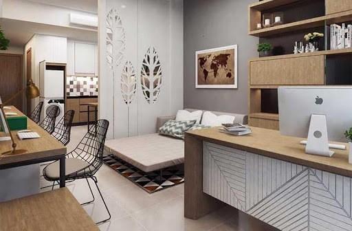 mẫu căn hộ officetel
