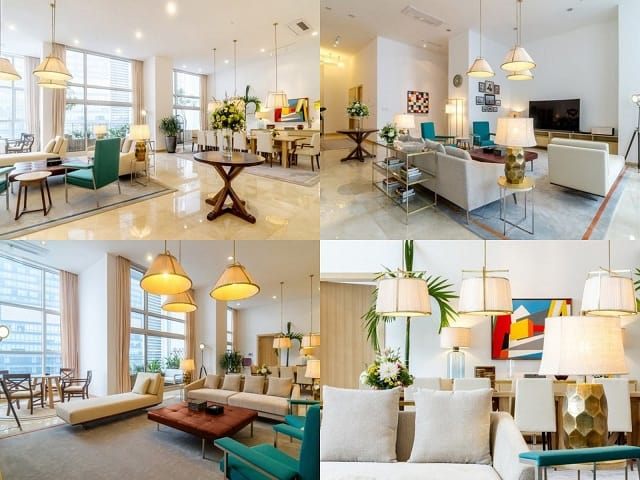 Ngất Ngây Với Căn Hộ Penthouse Mang Phong Cách Đương Đại 2