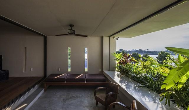 Ngôi Nhà Độc Đáo Với Cây Xanh Bao Phủ Từ Sân Lên Nóc Giữa Đất Sài Thành 6