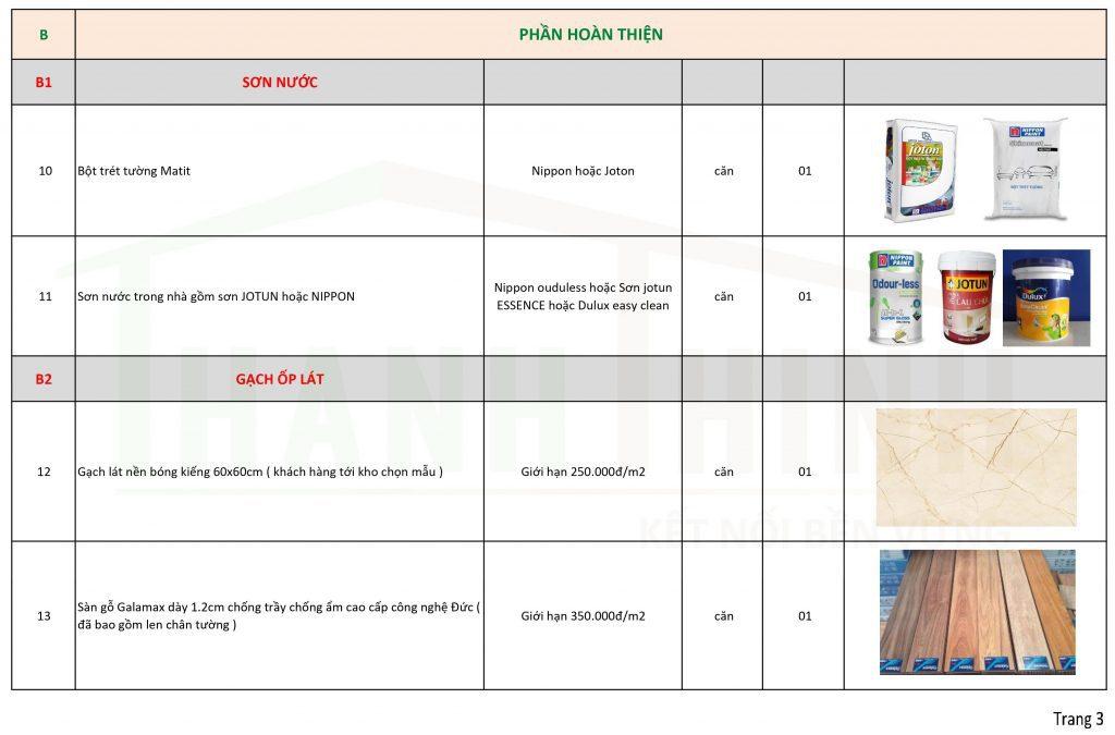 Báo Giá Gói Thi Công Hoàn Thiện Nhà Thô, Căn Hộ Mới Ở TPHCM 3