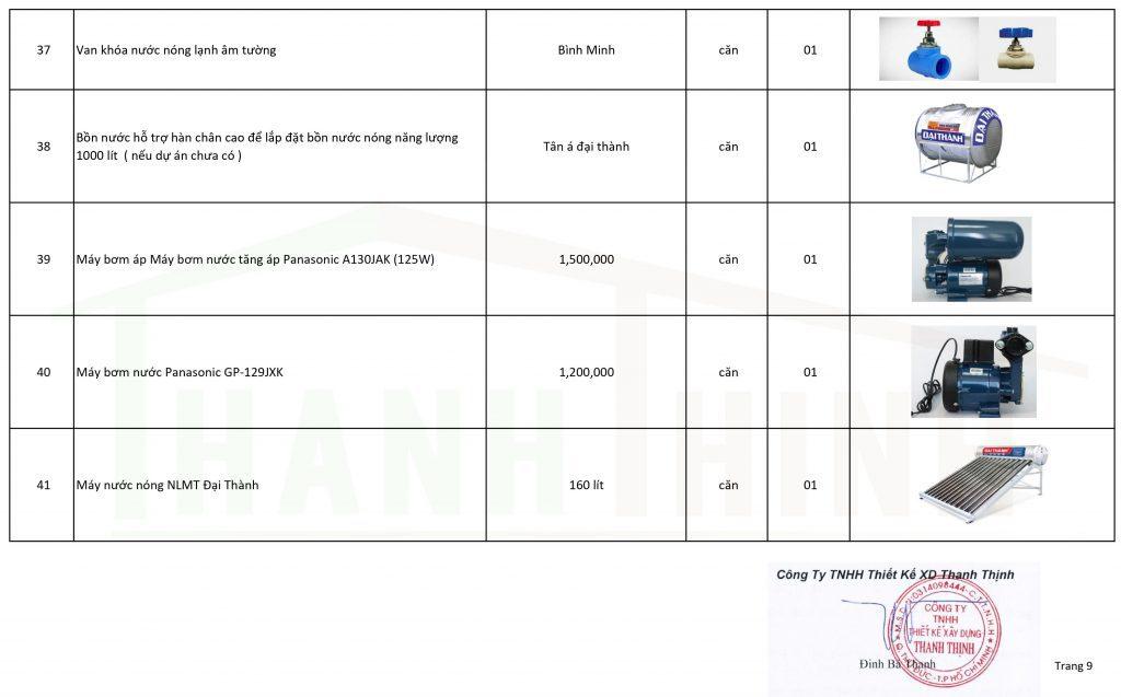 Báo Giá Gói Thi Công Hoàn Thiện Nhà Thô, Căn Hộ Mới Ở TPHCM 9