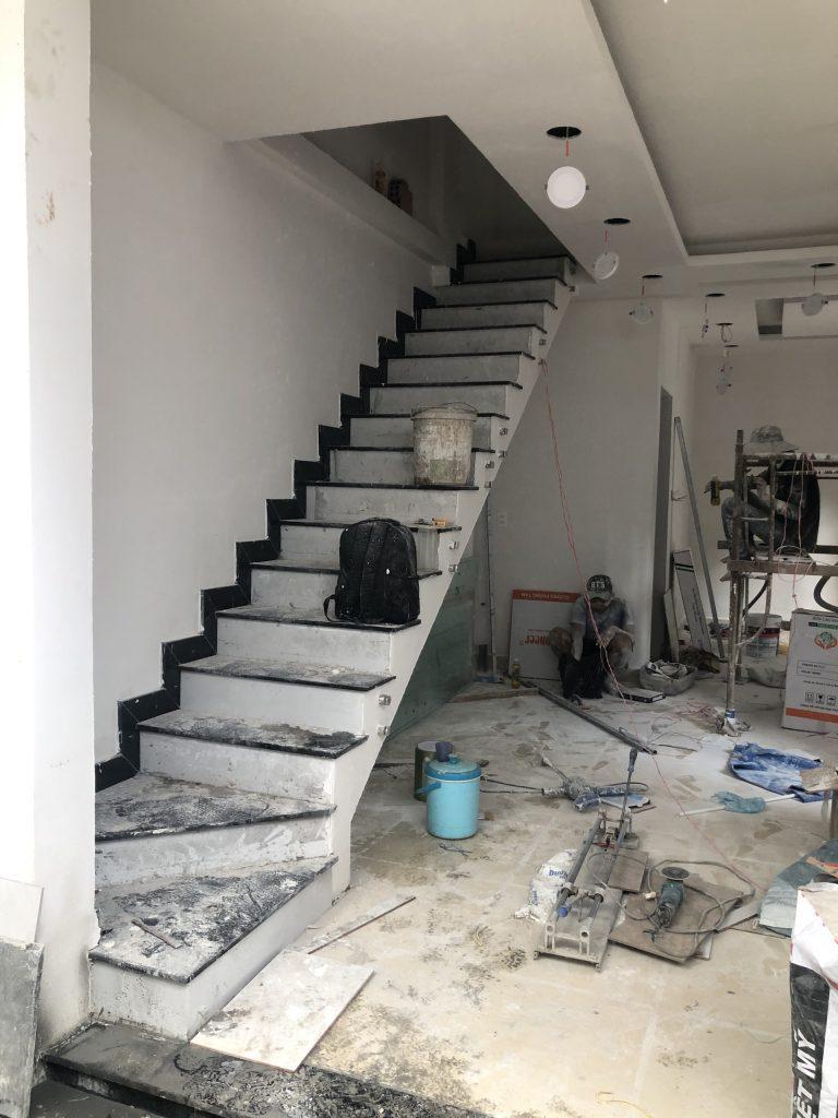 Sửa Chữa Nâng Tầng Nhà Móng Yếu Bằng Sàn Vật Liệu Nhẹ Cemboard 17