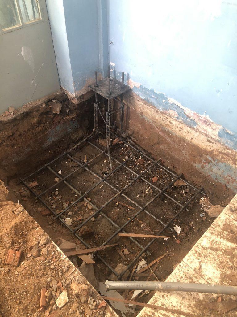 Sửa Chữa Nâng Tầng Nhà Móng Yếu Bằng Sàn Vật Liệu Nhẹ Cemboard 12