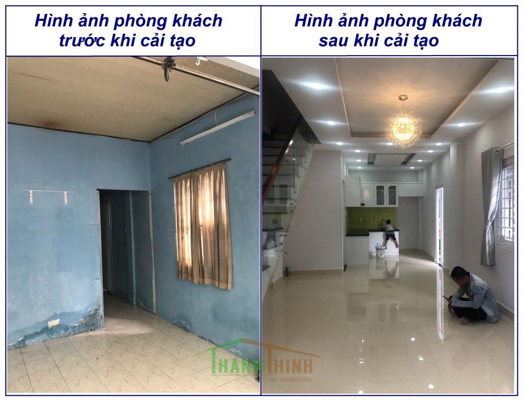 Sửa Chữa Nâng Tầng Nhà Móng Yếu Bằng Sàn Vật Liệu Nhẹ Cemboard 6
