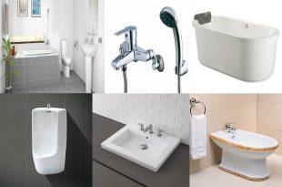 Báo Giá Vật Liệu Xây Dựng: Thiết Bị Vệ Sinh (chậu lavabo, vòi rửa, bồn cầu, vòi sen...) 1