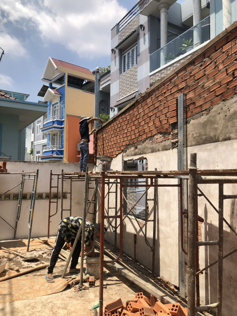 Sửa Chữa Nâng Tầng Nhà Móng Yếu Bằng Sàn Vật Liệu Nhẹ Cemboard 18