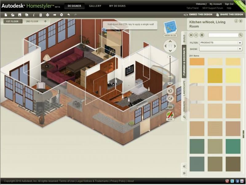 phần mềm thiết kế nội thất