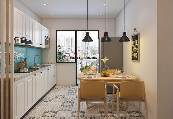 thiết kế nội thất cho chung cư nhỏ