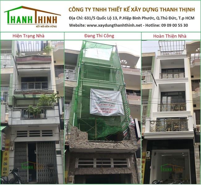 Báo Giá Biến Nhà Phố Cũ Thành Mới Ở Hồ Chí Minh 1