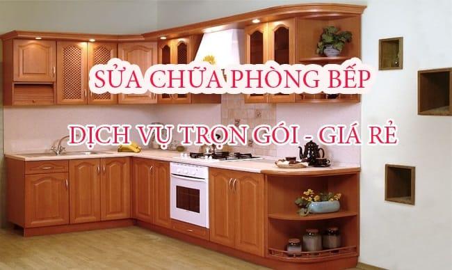 Top Báo Giá & Lưu Ý Sửa Chữa Phòng Bếp, Nhà Bếp Ở HCM 1