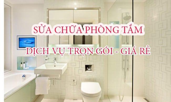 Top Báo Giá & Lưu Ý Sửa Chữa Phòng Tắm Ở HCM 1