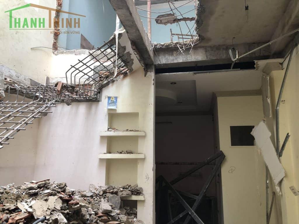 Sửa Chữa Thêm Tầng Cemboard Nhà 1 Trệt 3 Lầu Quận 10 21
