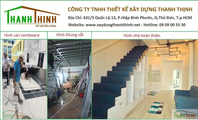 Công Ty Sửa Chữa Nhà, Nâng Tầng Sàn Cemboard, Hoàn Thiện Nhà Uy Tín HCM 2