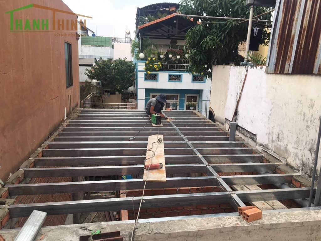 Sửa Chữa Thêm Tầng Cemboard Nhà 1 Trệt 3 Lầu Quận 10 27