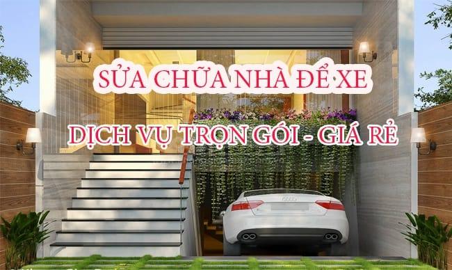Top Báo Giá & Lưu Ý Sửa Chữa Nhà Để Xe Ở HCM 3