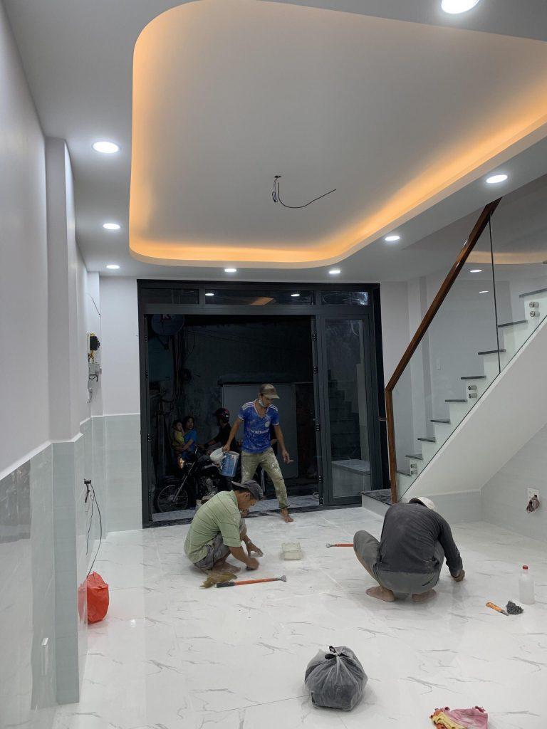 Sửa Chữa Nhà Nâng Tầng Nhà Cấp 4 Bằng Tấm Cemboard Thái Lan Ở Quận 12 23