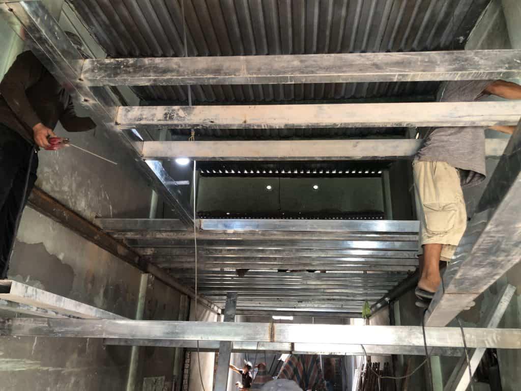 Sửa Chữa Nhà Nâng Tầng Nhà Cấp 4 Bằng Tấm Cemboard Thái Lan Ở Quận 12 9