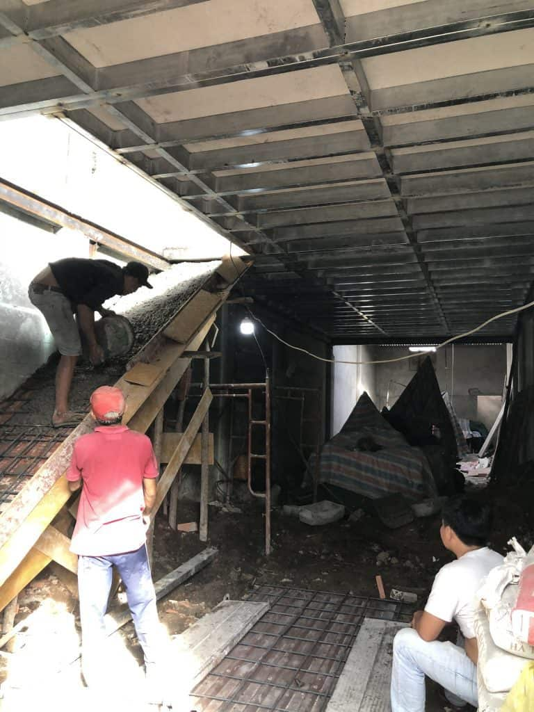 Sửa Chữa Nhà Nâng Tầng Nhà Cấp 4 Bằng Tấm Cemboard Thái Lan Ở Quận 12 17
