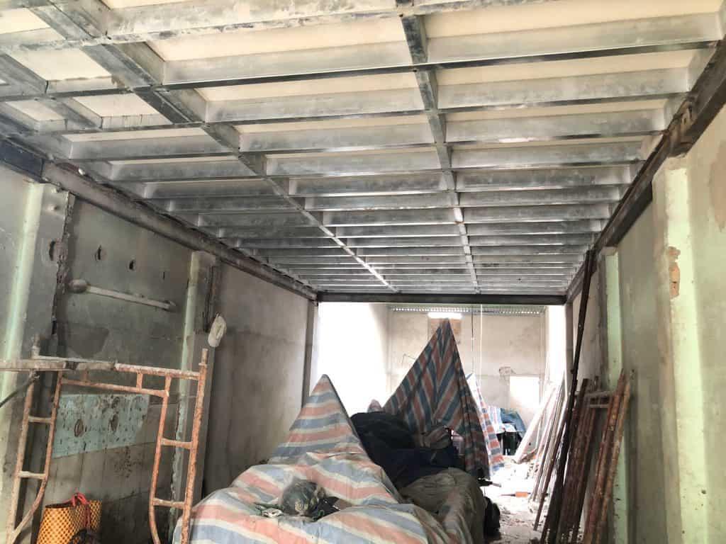 Sửa Chữa Nhà Nâng Tầng Nhà Cấp 4 Bằng Tấm Cemboard Thái Lan Ở Quận 12 16