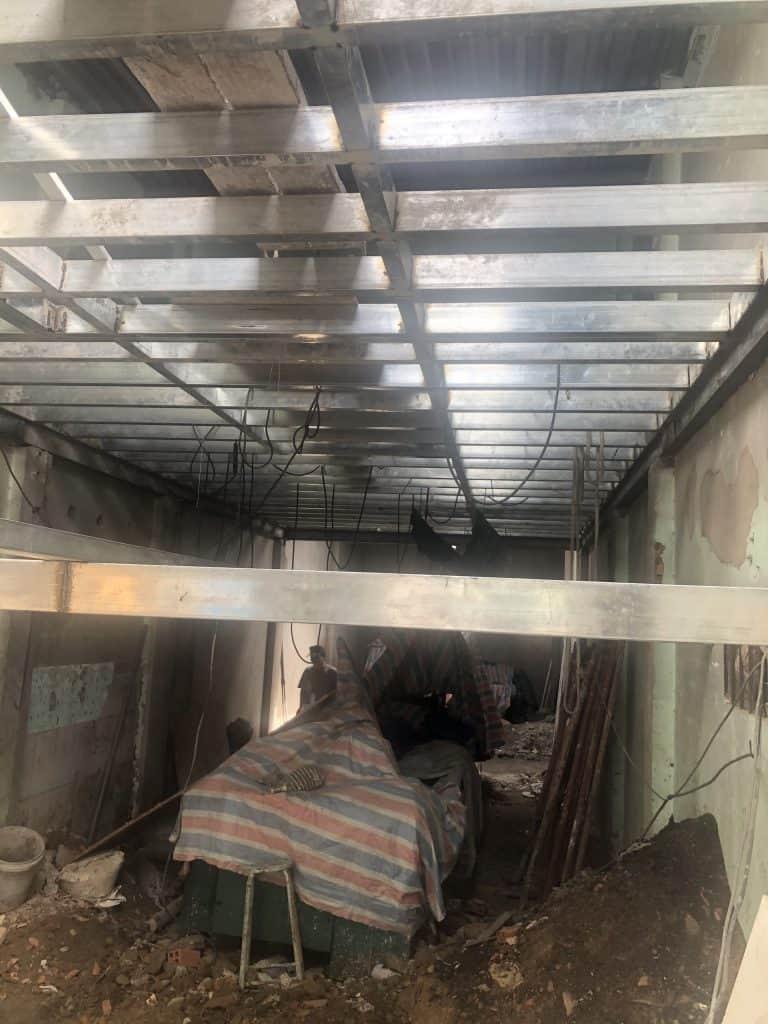 Sửa Chữa Nhà Nâng Tầng Nhà Cấp 4 Bằng Tấm Cemboard Thái Lan Ở Quận 12 11