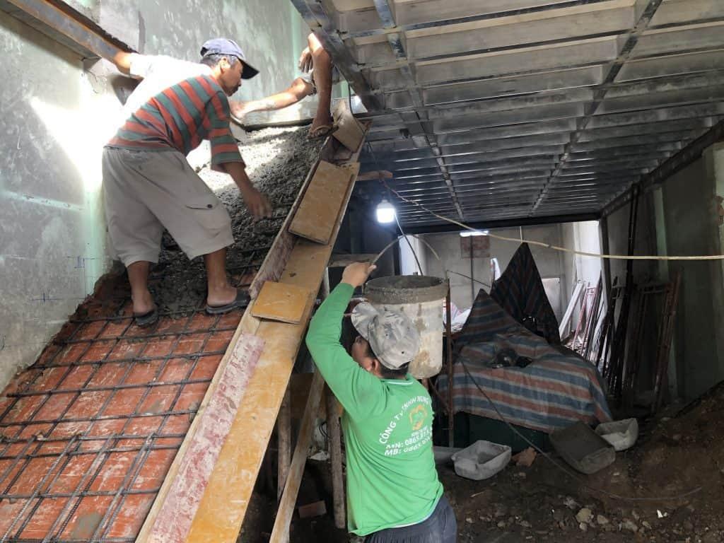 Sửa Chữa Nhà Nâng Tầng Nhà Cấp 4 Bằng Tấm Cemboard Thái Lan Ở Quận 12 18