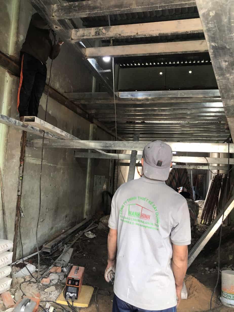 Sửa Chữa Nhà Nâng Tầng Nhà Cấp 4 Bằng Tấm Cemboard Thái Lan Ở Quận 12 19