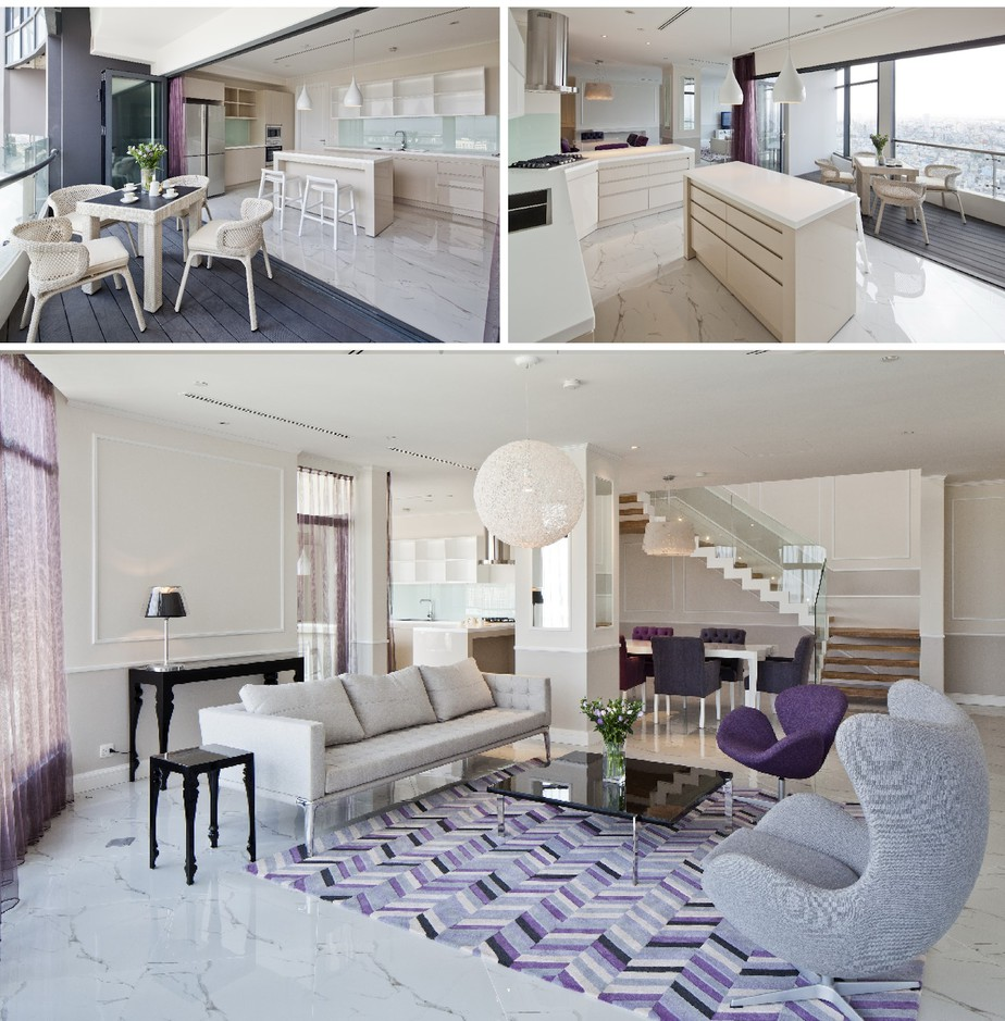mẫu nội thất đẹp nhà có diện tích lớn