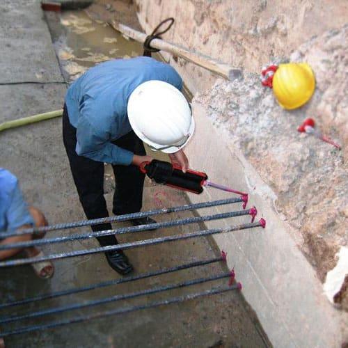 cấy cột thép nâng tầng nhà
